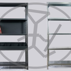 Μεταλλικά Ράφια Dexion - Διάτρητα γωνιακά ελάσματα - Μεταλλικές επιφάνειες - Παντάλης